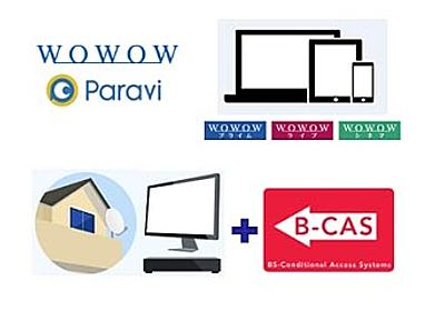 WOWOWの3チャンネルがネット同時配信。月額2,300円で放送も - AV Watch