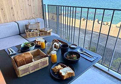 絶景の海で何もしない休日、淡路島のコスパが高いホテル「カモメスローホテル」宿泊記 - 北欧ミッドセンチュリーの家づくり