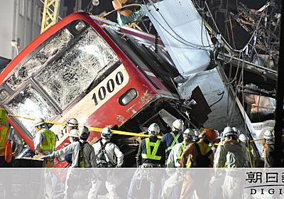 衝突トラック、同僚「道間違いか」 ナビやカメラ未装着 [京急脱線事故]:朝日新聞デジタル