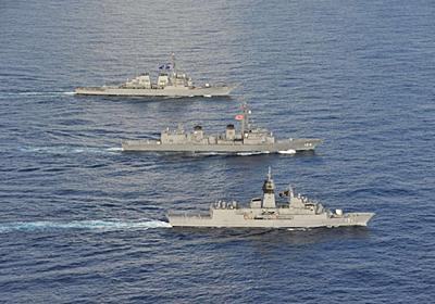 日米印演習にオーストラリア参加 クアッド演習で拡張する中国を抑止