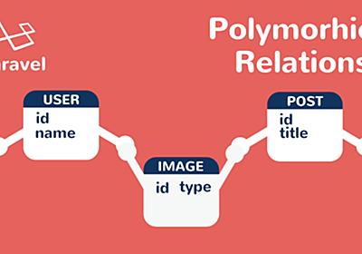 Laravel polymorphicリレーション完全理解   アールエフェクト