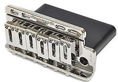板バネ採用のシンクロナイズドトレモロ SUPER VEE BladeRunner | エレキギター情報TGR