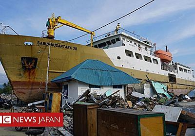 インドネシア津波 「驚きの発見」で仕組み解明へ - BBCニュース