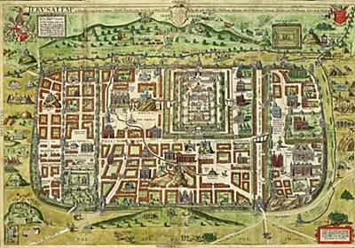 「キリスト時代のエルサレム」地図が16世紀に人気だった理由 | ナショナルジオグラフィック日本版サイト