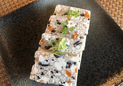 ひじき豆腐の寒天よせ - らしくないblog