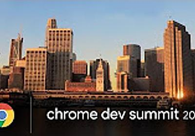 Chrome Dev Summit 2017 - YouTube