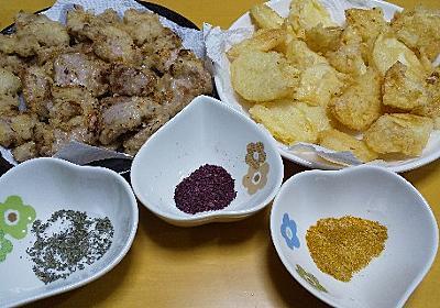 旬のタケノコを使って筍天と豚天 - 晩ご飯ツマミ担当オヤジ 今日は何作ろ?