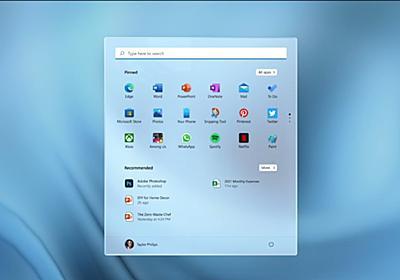 Windows 11発表。年内提供予定でWindows 10からは無償アップグレード - PC Watch