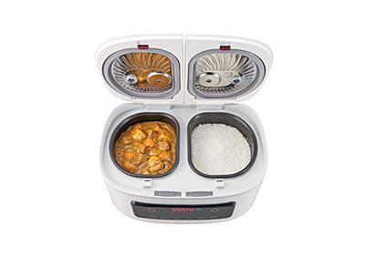 一度に最大4品ほったらかし調理!毎日の食卓がラク~に充実。1台でご飯とおかずが同時にできる自動調理鍋「ツインシェフ」発売|ショップジャパンのプレスリリース