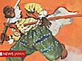 アフリカ出身の侍がいた 戦国時代の数奇な人生、ハリウッド映画へ - BBCニュース