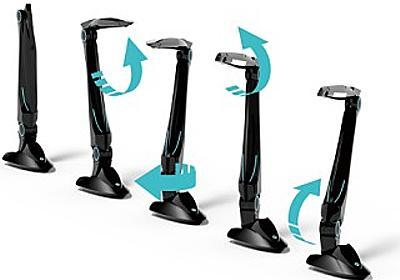 男子萌え! 変形ロボットライト - 話して点灯、移動や写真撮影も可能 | マイナビニュース