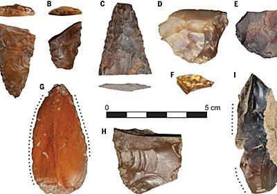 新発見の石器から「最初のアメリカ人は日本から来たかもしれない」説が急浮上 - GIGAZINE