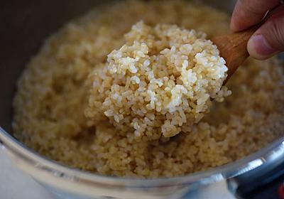 玄米ご飯の炊き方(圧力鍋&土鍋にて):白ごはん.com