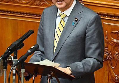代表質問:巡航ミサイル「保有可能」 首相が専守防衛明言 - 毎日新聞