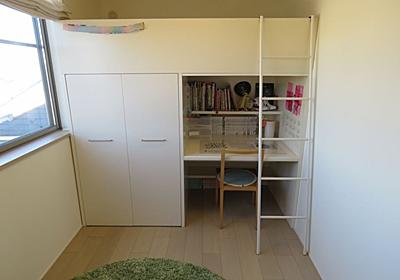 ベッドと机が一体になった子ども部屋用の家具=システムベッドにまつわる話 - keigoman's diary