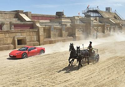 CNN.co.jp : 写真特集:馬車対フェラーリ - (1/6)