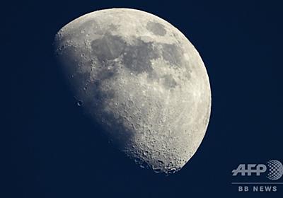 月面の宇宙放射線、ISSの2.6倍 「滞在2か月が限度」 写真1枚 国際ニュース:AFPBB News