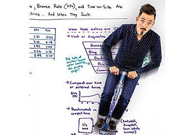 使いこなし高難度「直帰率」「PV/セッション」「滞在時間」3大指標の正しい使い方(後編) | Moz - SEOとインバウンドマーケティングの実践情報 | Web担当者Forum