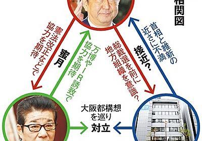 「都構想反対」焼き肉店で首相 自民大阪「撮ったよ」:朝日新聞デジタル