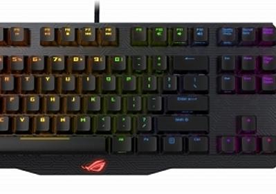 ASUS,Cherry MX Red/Blue RGBキースイッチ搭載で着脱式10キーパッド採用のゲーマー向けキーボード - 4Gamer.net