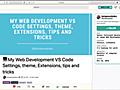 VSCodeでコードを書く時に役立つ設定・テーマ・機能拡張、知っておくと便利なテクニック | コリス