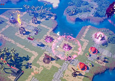 名作『アクトレイザー』を彷彿とさせるタワーディフェンス&2Dアクションゲーム『SolSeraph』発表。発売は7月10日、オープニングテーマは古代祐三氏が制作