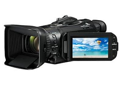 キヤノン、4K/60p対応の最上位ビデオカメラ「GX10」。業務用「XF405」も - AV Watch