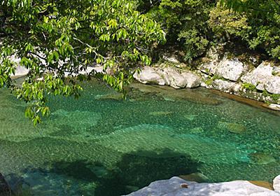 銚子川(魚飛渓) | キャンプinn海山
