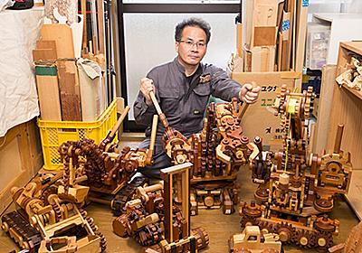 CADも使わず手書きで設計——プロもうなる超絶の木工メカニズム | fabcross
