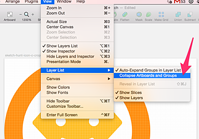 Sketch App Tip: How to Collapse Artboards and Groups