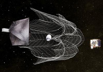 CNN.co.jp : 衛星で網投げ、宇宙ごみをキャッチ 初の実験に成功