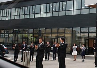 【画像】 長野のマツダでデミオを買ったら、従業員総出の拍手で送り出してくれた - 痛いニュース(ノ∀`) : ライブドアブログ