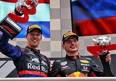 ホンダF1が波乱のレースを制しダブル表彰台「両チームが快挙を達成し喜びもひとしお。特別な一日に」と田辺TD | F1 | autosport web