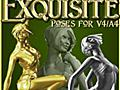 Exquisite Poses for V4/A4 3D Figure Essentials SeverD