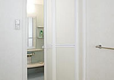 お風呂場のパカパカドアが通る面積を計算したら感動的に綺麗だった【美しい回答追記】 - プロクラシスト