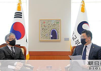 韓国メディアとの懇談で不適切発言 駐韓公使に厳重注意:朝日新聞デジタル