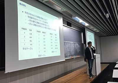 早稲田大学で「アルゴリズムとデータ構造」の特別講義を行いました - freee Developers Blog