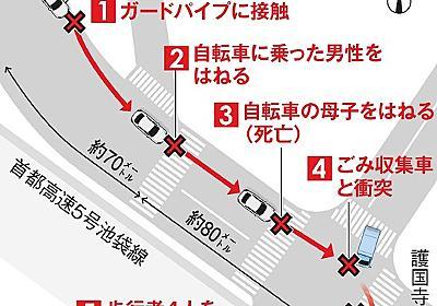 「運転やめる」告げていた87歳 猛スピードの目撃情報:朝日新聞デジタル