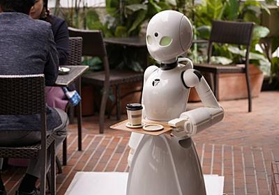 自宅にいながら接客できる!? 寝たきりでも操作できる分身ロボットのカフェがオープン   ギズモード・ジャパン