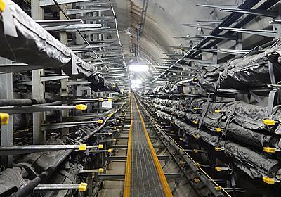 日比谷の地下に知られざる「とう道」あり――それはケーブル収容空間と保守作業空間の確保を目的として構築された大規模地中構造物 -INTERNET Watch
