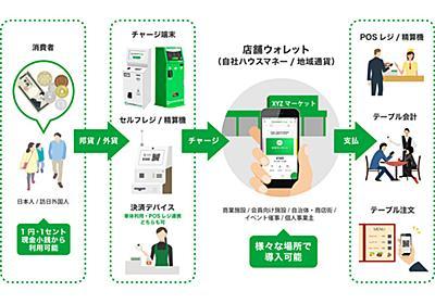 誰でも独自電子マネーを発行できる「ポケットチェンジPAY」--決済はスマホを使用 - CNET Japan