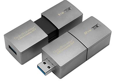 2TBのUSBメモリ、Kingstonが2月発売へ - ITmedia ニュース