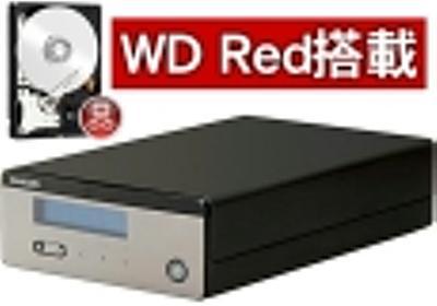 エレコム NetStor BOX型 LinuxNAS 1Bay NSB-3NRVシリーズ WD Red採用モデル 1TB NSB-3NR1T1MLV - NTT-X Store