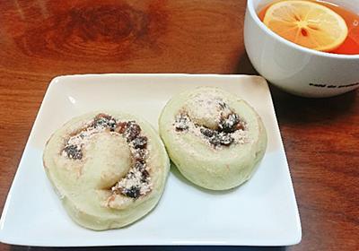 恵方巻&小豆とクルミのくるくる抹茶パン - たまご日和