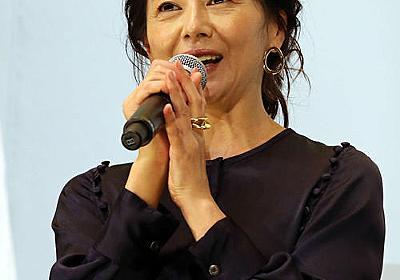 小泉今日子、食べる女「間接的に男性のための映画」 - シネマ : 日刊スポーツ