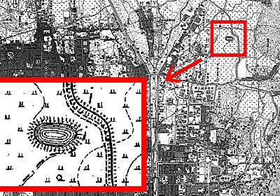 うちの近所に謎の楕円が!?100年前の地図でみつけた謎に迫る :: デイリーポータルZ