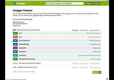 Swaggerの便利ツールまとめ | NTT Communications Developer Portal