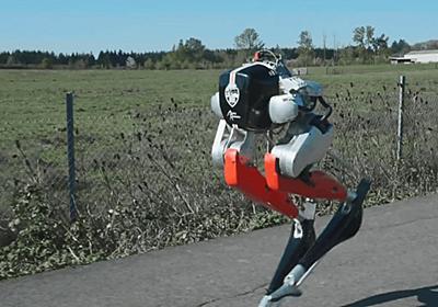 「ダチョウのように走る下半身だけの二足歩行ロボット」が5kmを53分台で走破、軽快に走るムービーも公開中 - GIGAZINE