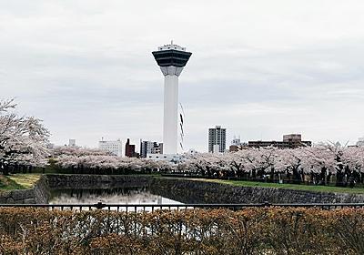 函館の亀田川沿いの桜とetc : 函館の飲み食い日記 Powered by ライブドアブログ