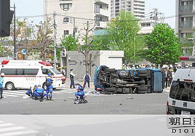10人はねられ女児ら2人死亡 87歳が運転 池袋事故:朝日新聞デジタル